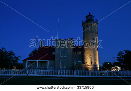 Mackinac Lighthouse Stock Photos, Images, & Pictures.