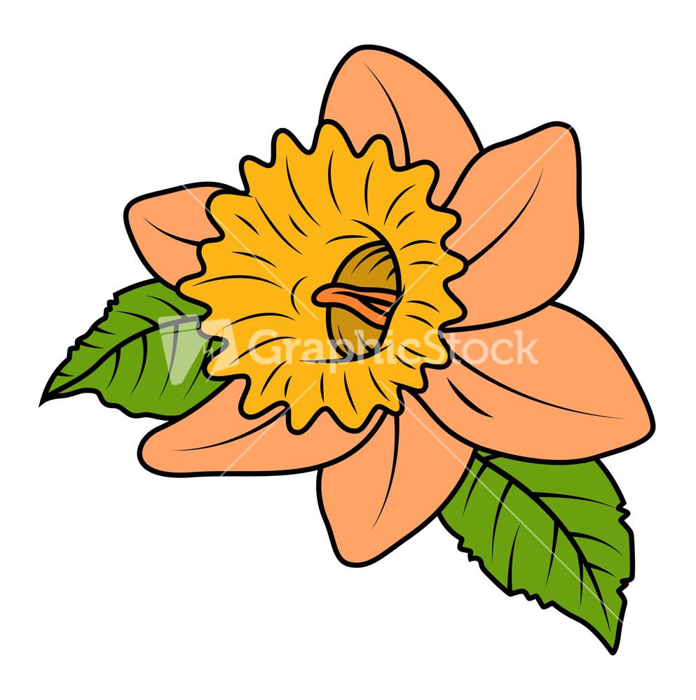 Retro Macro Wild Flower.