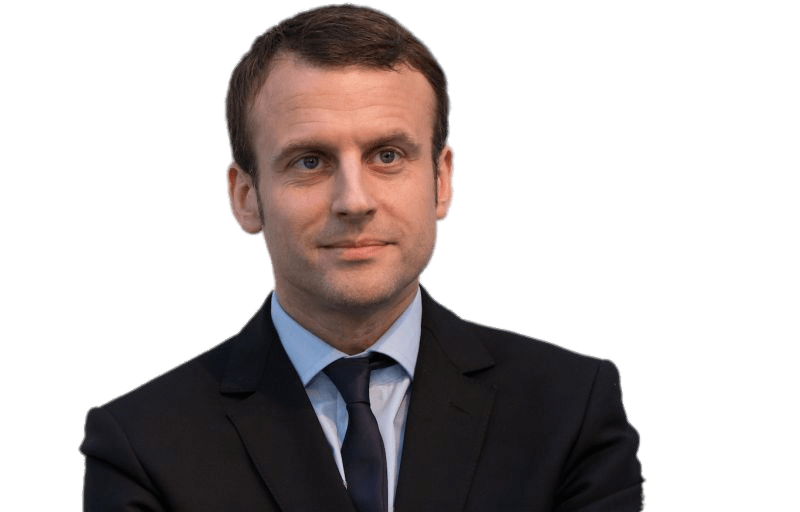 Emmanuel Macron Thinking transparent PNG.