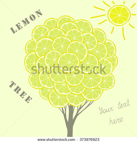 Abstract Green Lemon Sun Stock Photos, Royalty.