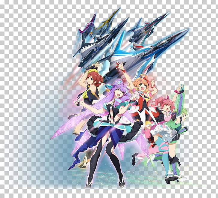 Macross Anime Television show Walkure, Anime PNG clipart.