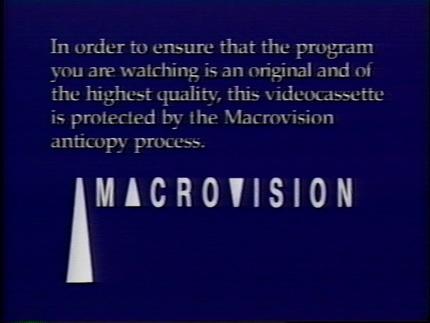Macrovision (1988).