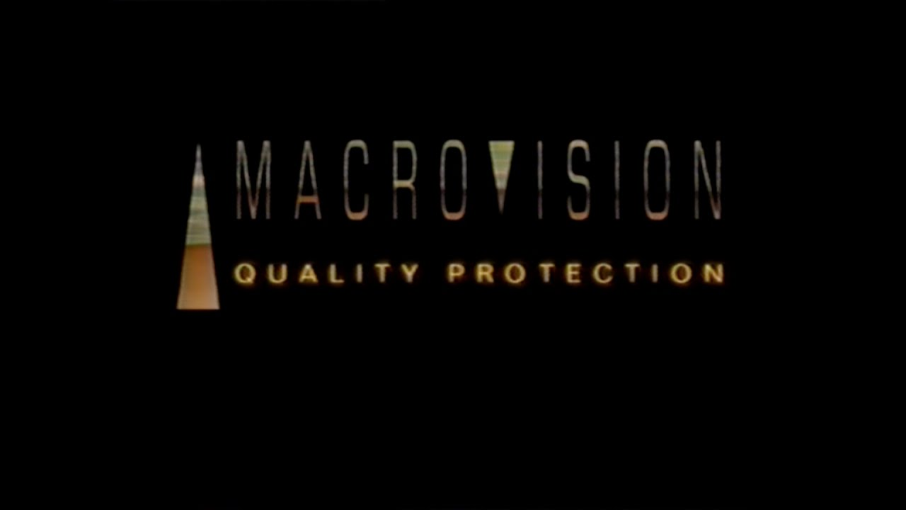 MACROVISION QUALITY PROTECTION LOGO [VHS] 2002.
