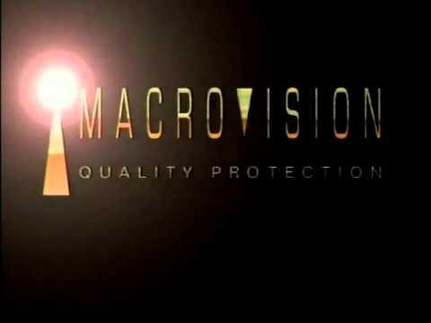 Macrovision Logos.