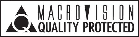 Macrovision™ logo vector.