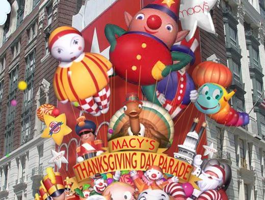 Thanksgiving Parade Clipart.
