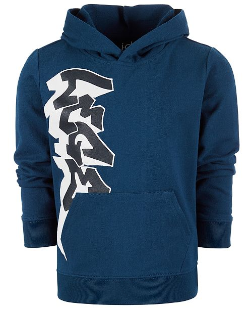 Toddler Boys Graffiti Logo Hoodie, Created for Macy\'s.