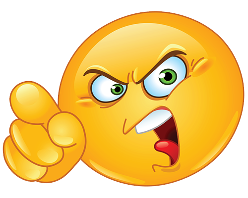Angry Emoji PNG Images Transparent Free Download.