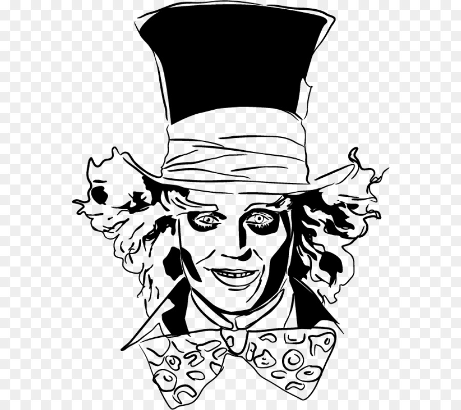 Mad Hatter Face.
