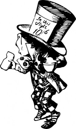 Free Mad Hatters Clipart and Vector Graphics.