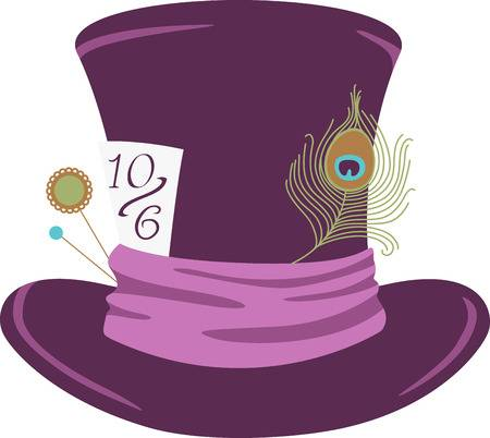 96 Mad Hatter Hat Stock Illustrations, Cliparts And Royalty.