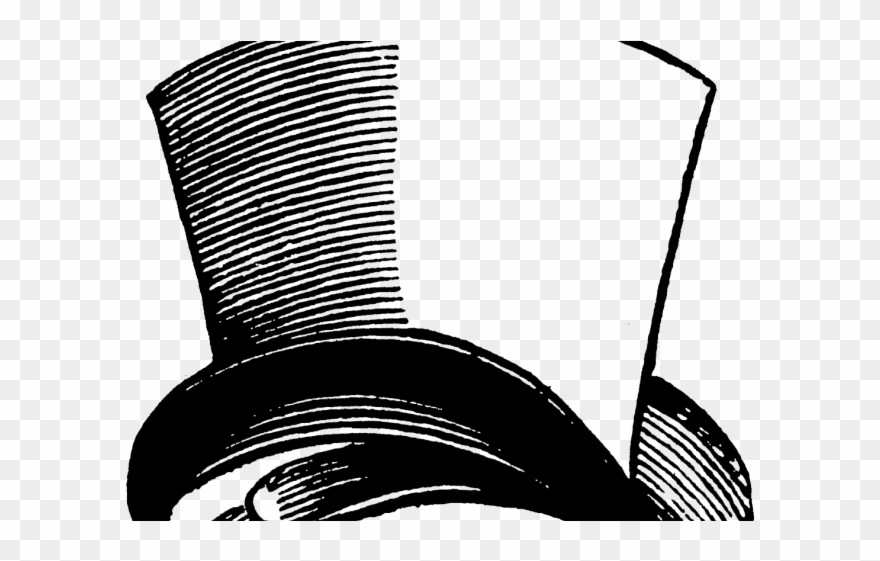 Upside Down Clipart Top Hat.