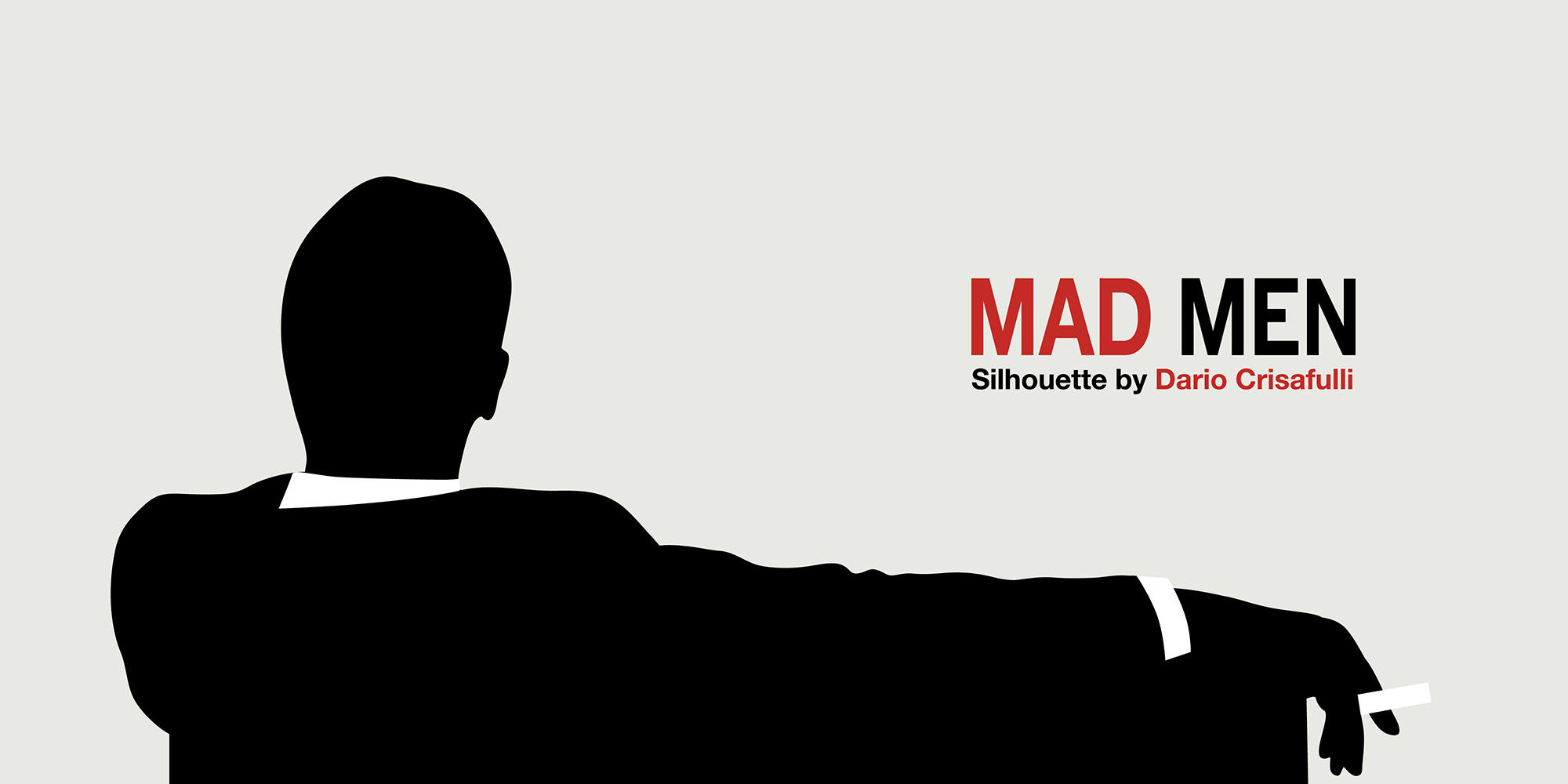 Clipart library: More Like Mad Men Silhouette Vector by.