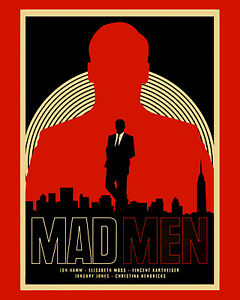 Details about MAD MEN Promo Poster, 8x10 Color Photo.