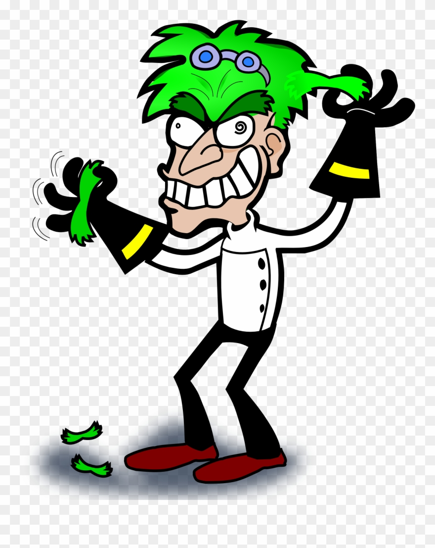Mad Scientist Clipart.