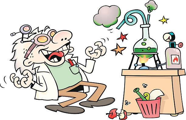 Mad scientist clipart 1 » Clipart Station.