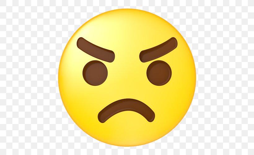 Emoji Emoticon Face Clip Art, PNG, 500x500px, Emoji, Anger.