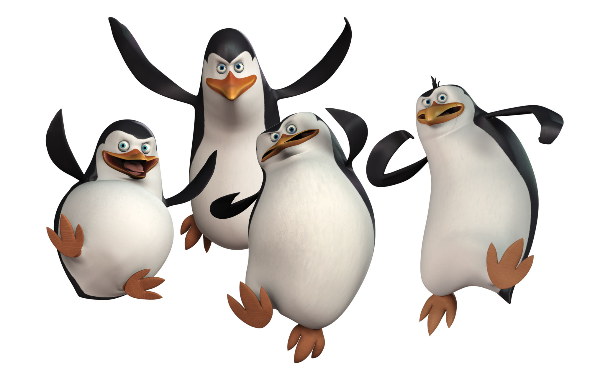 Penguins of madagascar clipart.