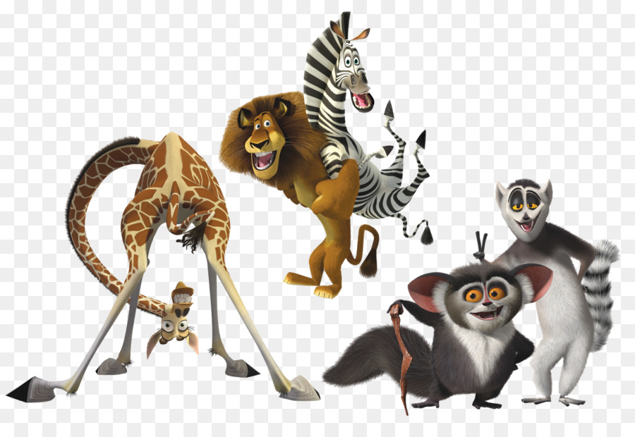 madagascar animation clipart Julien Skipper Alex clipart.