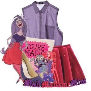DisneySites!! Clipart > Movies > Sword in the Stone > Madame Mim.