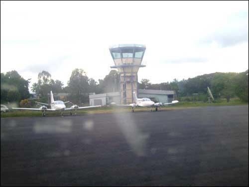 Madang Airport.