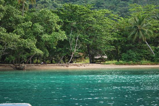 The beautiful beaches of PNG.