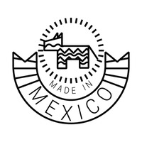 Made In Mexico Label Labels Simple Basic Basics.