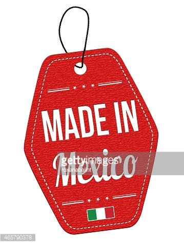 Made IN Mexico Label OR Price Tag premium clipart.