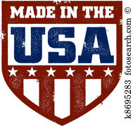 Made usa Clipart Illustrations. 1,881 made usa clip art vector EPS.