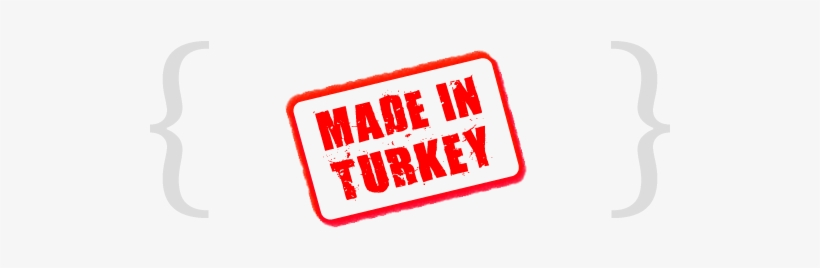 Made In Turkey Png PNG Image.