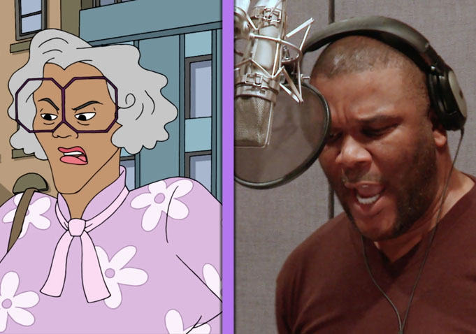 Madea png Transparent pictures on F.