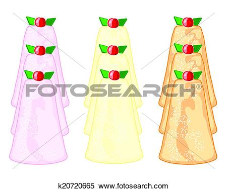 Clipart of english madeleine cakes k20720665.