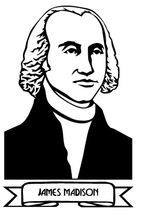 Gallery For > James Madison Clipart.