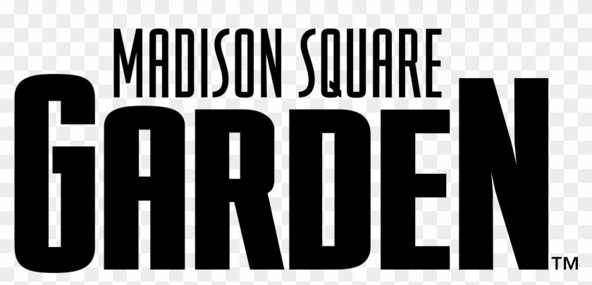 Madison Square Garden Logo Black And White.