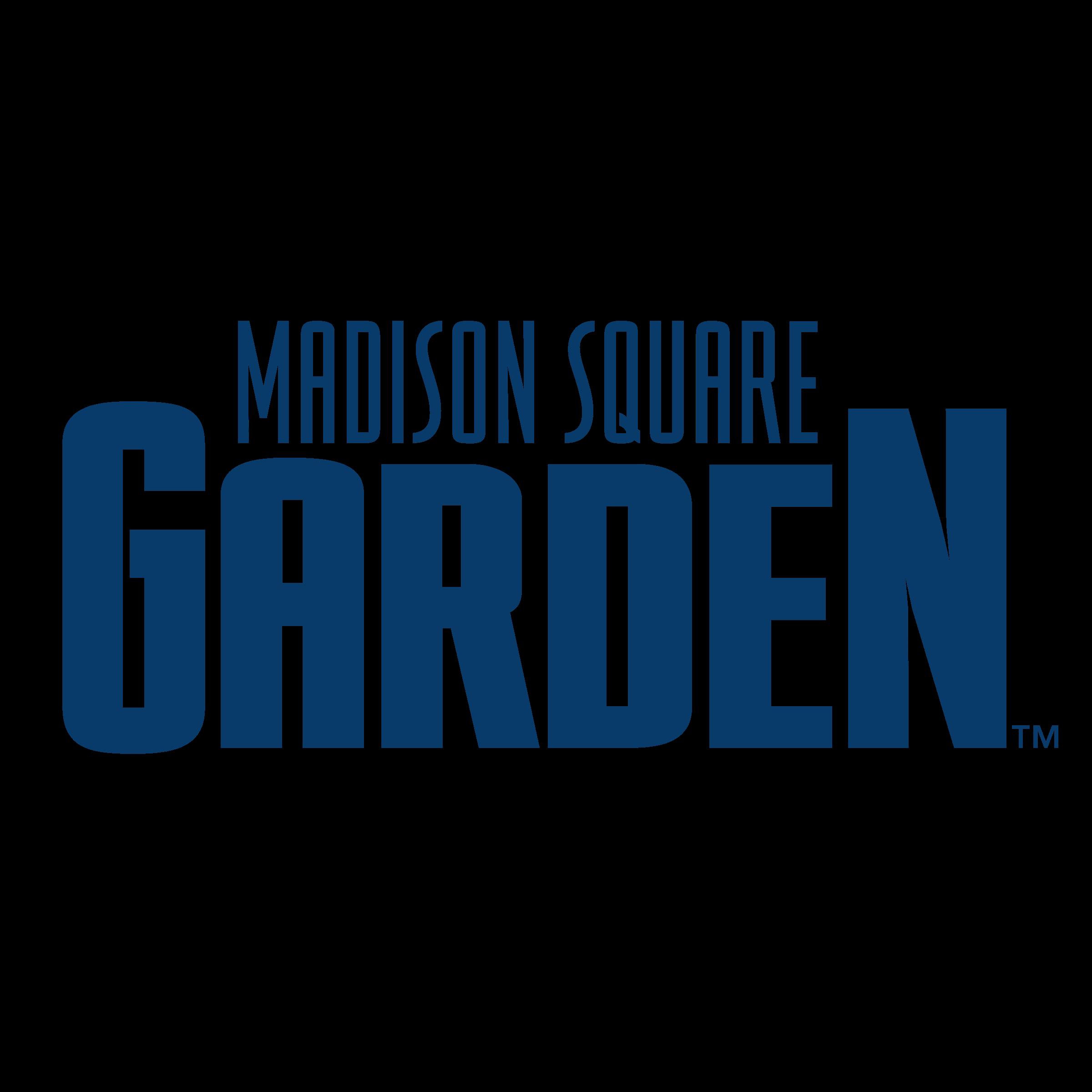 Madison Square Garden Logo PNG Transparent & SVG Vector.
