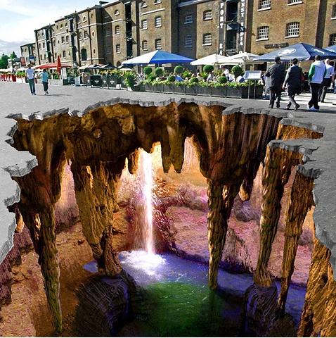 1000+ images about Street Art / 3d Illusions on Pinterest.
