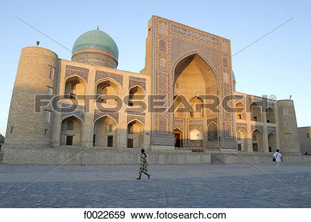 Stock Photograph of Uzbekistan, Bukhara, Mir.