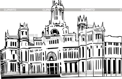 Madrid clipart.