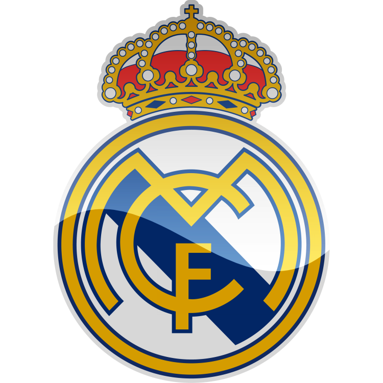 Real Madrid CF HD Logo.