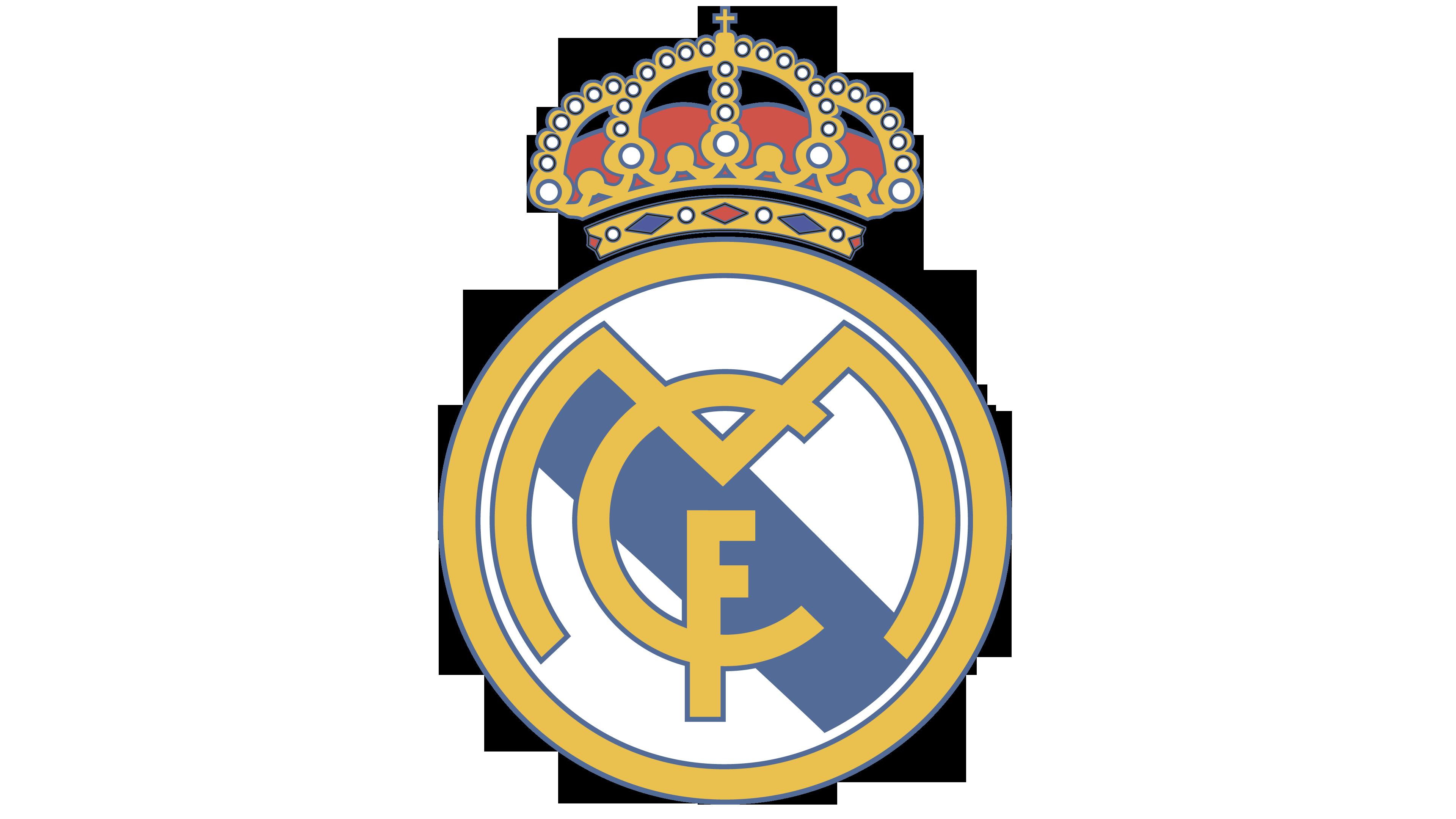 Real Madrid logo.