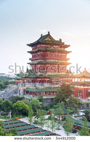 Chinese Traditional Architecture Stock Photos, Royalty.