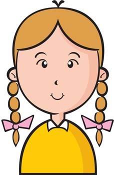 Little Girl 11, vector files.