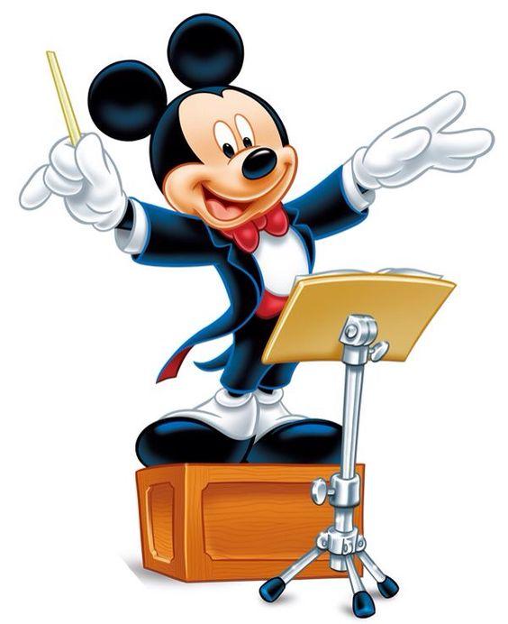 Maestro Mickey.