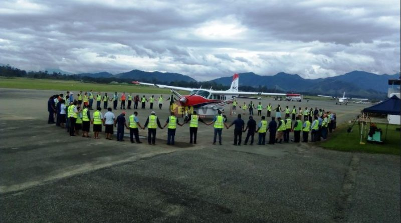 MAF PNG Receives New Caravan Plane.