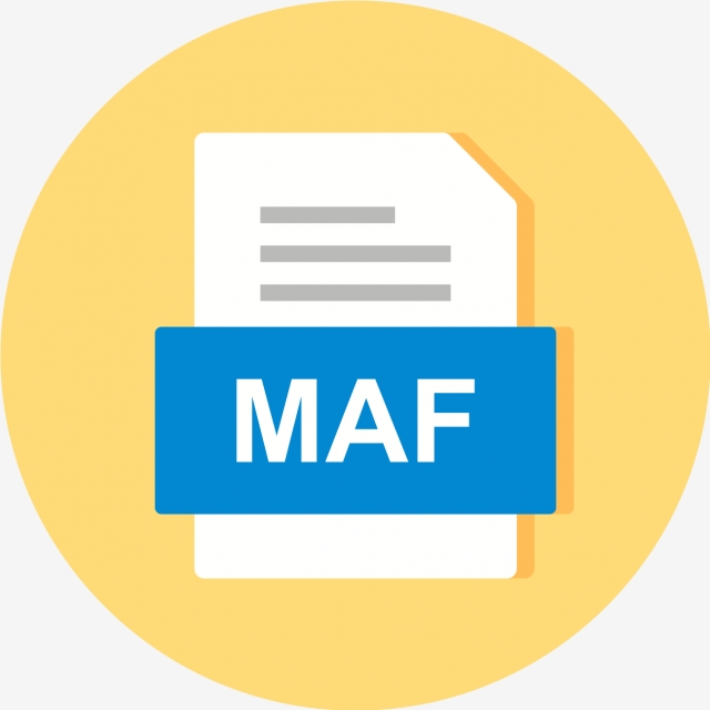 Maf File Document Icon, Maf, Document, File PNG and Vector.
