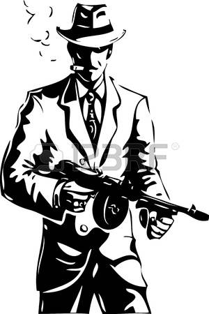 8,629 Gangster Stock Vector Illustration And Royalty Free Gangster.