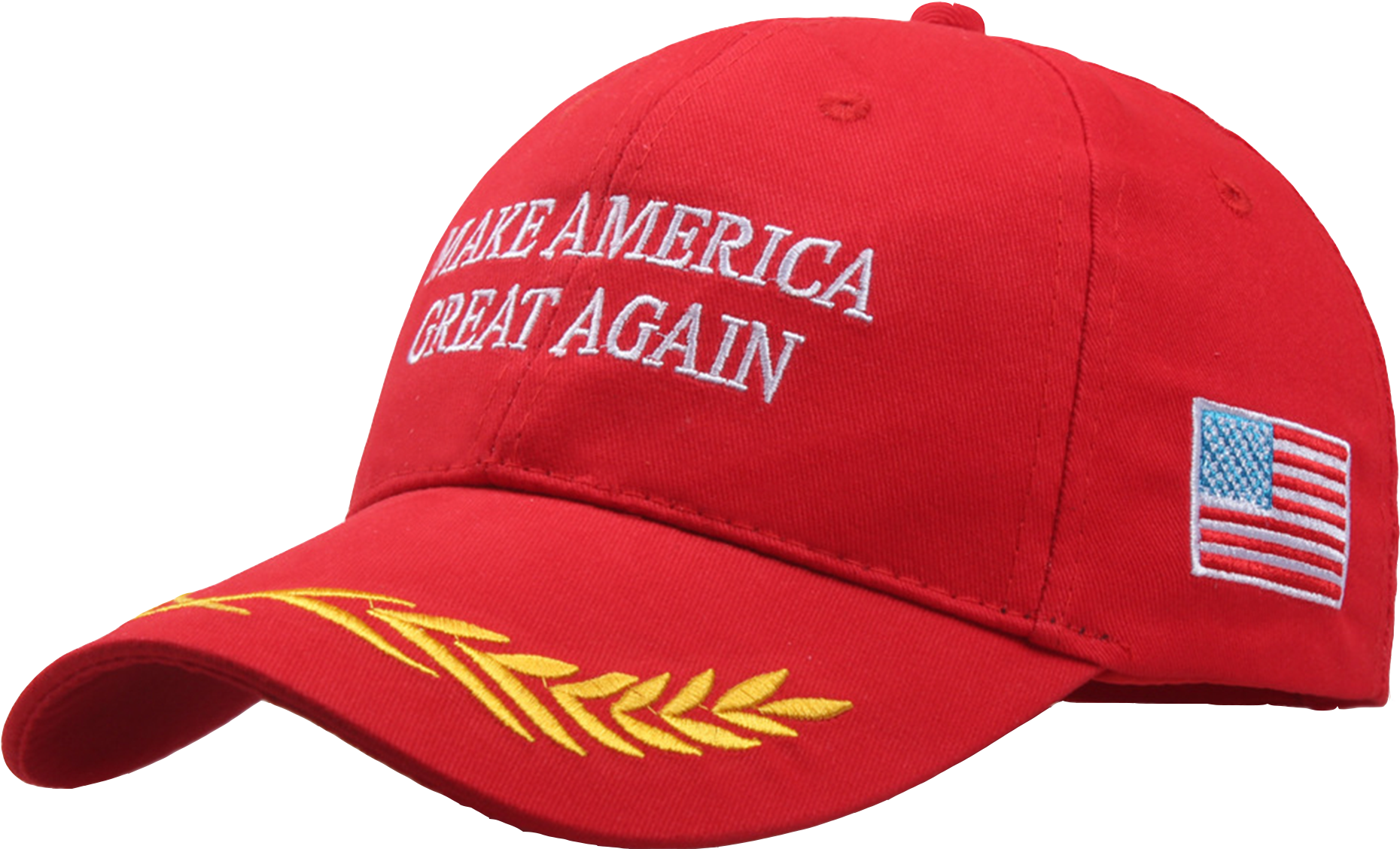 Clip Art Make America Great Again Hat Font.