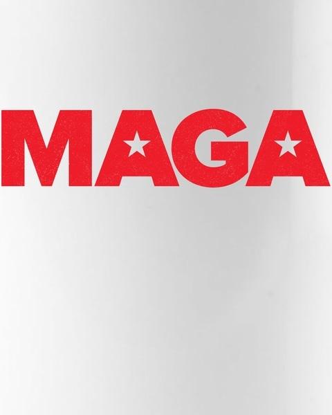 MAGA Distressed Logo Make America Great Again Coffee Mug.