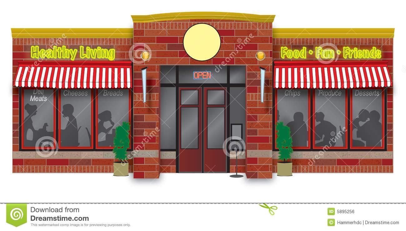 Storefront Stock Illustrations.