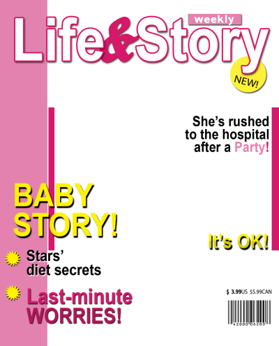 Download Free png Magazine Cover PNG Pic.